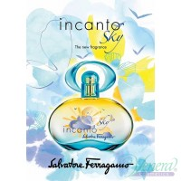 Salvatore Ferragamo Incanto Sky EDT 100ml for Women Without Package Women's Fragrances without package