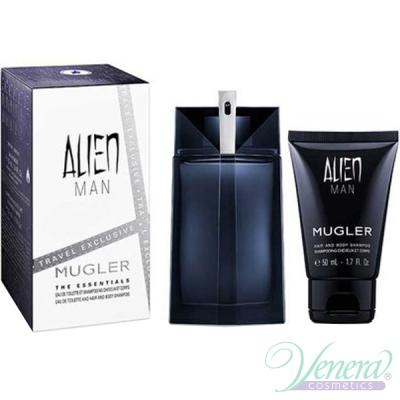 Thierry Mugler Alien Man Set (EDT 100ml + SG 50ml) για άνδρες