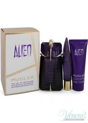 Thierry Mugler Alien Set (EDP 60ml + EDP 10ml + BL 50ml) για γυναίκες Γυναικεία Σετ