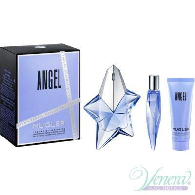 Thierry Mugler Angel Set (EDP 50ml + EDP 10ml + SG 50ml) για γυναίκες