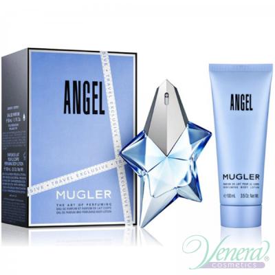 Thierry Mugler Angel Set (EDP 50ml + Body Lotion 100ml) για γυναίκες Γυναικεία σετ