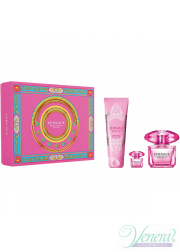 Versace Bright Crystal Absolu Set (EDP 90ml + EDP mini 5ml + SG 150ml) για γυναίκες