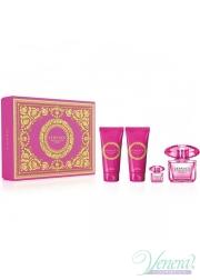 Versace Bright Crystal Absolu Set (EDP 90ml + EDP 5ml + BL 100ml + SG 100ml) για γυναίκες Γυναικεία σετ