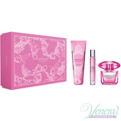 Versace Bright Crystal Absolu Set (EDP 90ml + EDP Roll On 10ml + SG 150ml) για γυναίκες