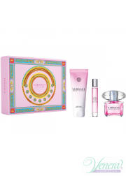 Versace Bright Crystal Set (EDT 90ml + EDT 10ml + BL 150ml) για γυναίκες
