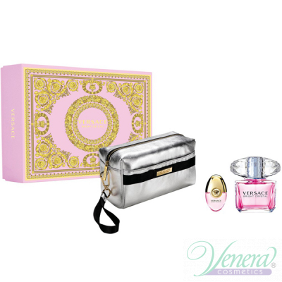 Versace Bright Crystal Set (EDT 90ml + EDT 10ml + Bag) για γυναίκες