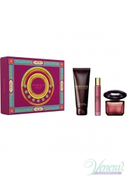 Versace Crystal Noir Set (EDT 90ml + EDT 10ml + BL 150ml) για γυναίκες
