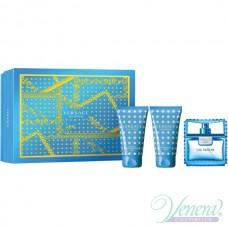 Versace Man Eau Fraiche Set (EDT 50ml + AS Balm 50ml + Shower Gel 50ml) για άνδρες