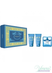 Versace Man Eau Fraiche Set (EDT 50ml + AS Balm 50ml + Shower Gel 50ml) για άνδρες Αρσενικά Σετ