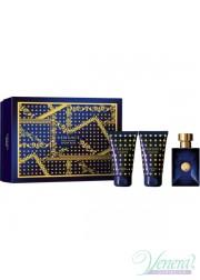Versace Pour Homme Dylan Blue Set (EDT 50ml + ASB 50ml + SG 50ml) για άνδρες Αρσενικά Σετ
