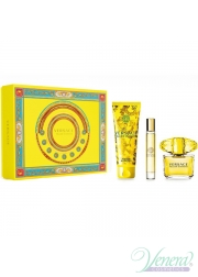 Versace Yellow Diamond Set (EDT 90ml + EDT 10ml + BL 150ml) για γυναίκες