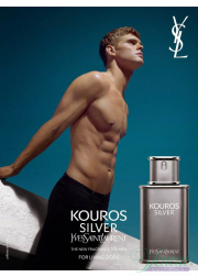 YSL Kouros Silver EDT 100ml για άνδρες Men's Fragrance