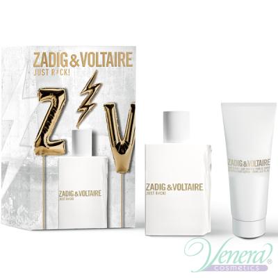 Zadig & Voltaire Just Rock! for Her Set (EDP 50ml + BL 100ml) για γυναίκες Γυναικεία Σετ
