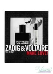 Zadig & Voltaire This is Him Set (EDT 50ml + EDT 10ml) για άνδρες