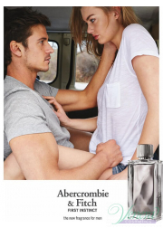 Abercrombie & Fitch First Instinct Set (EDT 50ml + Hair & Body Wash 100ml) για άνδρες Αρσενικά Σετ