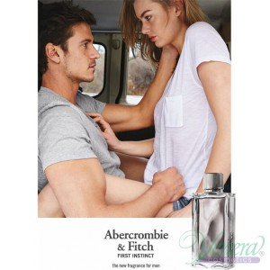 Abercrombie & Fitch First Instinct Set (EDT 50ml + Hair & Body Wash 100ml) for Men