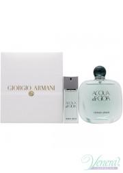 Armani Acqua Di Gioia Set (EDP 100ml + EDT 20ml) για γυναίκες Γυναικεία σετ