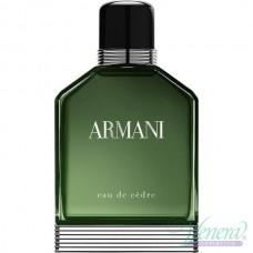 Armani Eau de Cedre EDT 100ml για άνδρες ασυσκεύαστo
