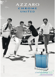Azzaro Chrome United EDT 100ml για άνδρες ασυσκεύαστo Products without package