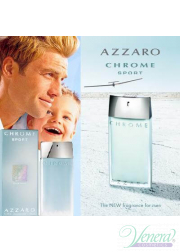 Azzaro Chrome Sport EDT 100ml για άνδρες ασυσκεύαστo Products without package