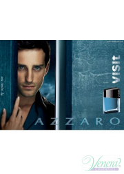 Azzaro Visit EDT 100ml για άνδρες