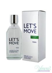 Benetton Let's Move EDT 40ml για άνδρες