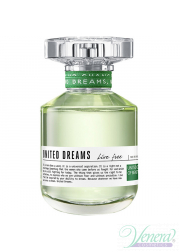 Benetton United Dreams Live Free EDT 80ml για γυναίκες ασυσκεύαστo Women's Fragrances without package