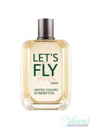 Benetton Let's Fly EDT 100ml για άνδρες ασυσκεύαστo Products without package