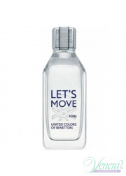 Benetton Let's Move EDT 100ml για άνδρες ασυσκεύαστo Products without package