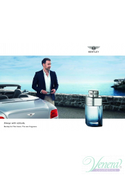 Bentley Bentley for Men Azure Set (EDT 100ml + EDT 7ml) για άνδρες Ανδρικά Σετ