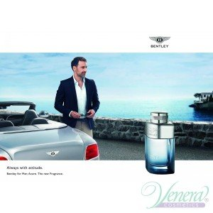 Bentley Bentley για άνδρες Azure EDT 100ml για άνδρες