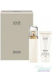 Boss Jour Pour Femme Set (EDP 75ml + Body Lotion 100ml) για γυναίκες
