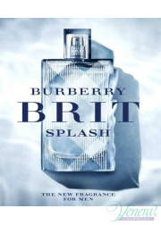 Burberry Brit Splash EDT 50ml για άνδρες Men's Fragrance