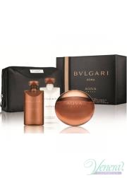 Bvlgari Aqva Amara Set (EDT 100ml + AS Balm 75ml + SG 75ml + Bag) για άνδρες Αρσενικά Σετ
