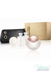 Bvlgari Aqva Divina Set (EDT 65ml + BL 40ml + SG 40ml + Soap 50ml + Bag) for Women Women's Gift sets
