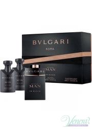 Bvlgari Man In Black Set (EDP 60ml + AS Ba...