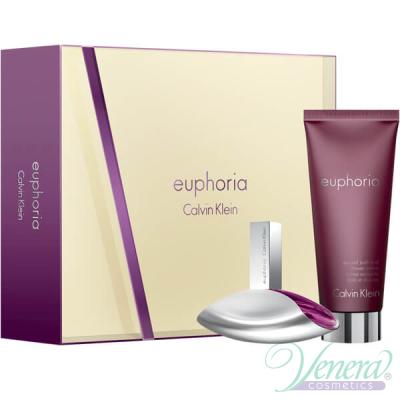 Calvin Klein Euphoria Set (EDP 30ml + Shower Cream 100ml) για γυναίκες Γυναικεία σετ