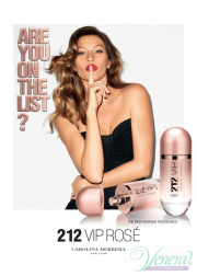 Carolina Herrera 212 VIP Rose EDP 30ml για γυναίκες