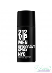 Carolina Herrera 212 VIP Men Deo Spray 150ml για άνδρες Men's face and body products