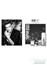 Carolina Herrera 212 VIP Men Set (EDT 100ml + E...