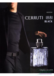 Cerruti 1881 Black EDT 100ml για άνδρες ασυσκεύαστo Products without package