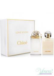 Chloe Love Story Set (EDP 50ml + Body Lotion 100ml) για γυναίκες Γυναικεία σετ