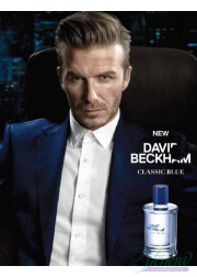 David Beckham Classic Blue Deo Spray 150ml for Men Men's face and body products