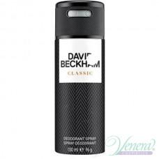 David Beckham Classic Deo Spray 150ml for Men