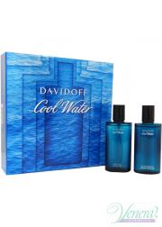 Davidoff Cool Water Set (EDT 75ml + AS Lotion 75ml) για άνδρες Men's Gift sets