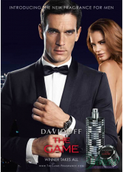 Davidoff The Game Intense EDT 60ml για άνδρες Men's Fragrance
