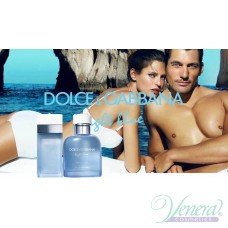 Dolce&Gabbana Light Blue Beauty of Capri EDT 125ml για άνδρες ασυσκεύαστo