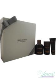 Dolce&Gabbana Pour Homme Intenso Set (EDP 125ml + Deo Stick 75ml +SG 50ml) για άνδρες Αρσενικά Σετ