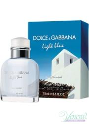 Dolce&Gabbana Light Blue Living Stromboli EDT 125ml για άνδρες Ανδρικά Αρώματα