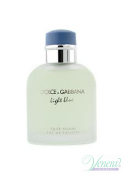 Dolce&Gabbana Light Blue EDT 125ml για άνδρες ασυσκεύαστo Προϊόντα χωρίς συσκευασία